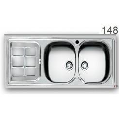 سینک ظرفشویی اخوان محصولات اخوان - مدل 148