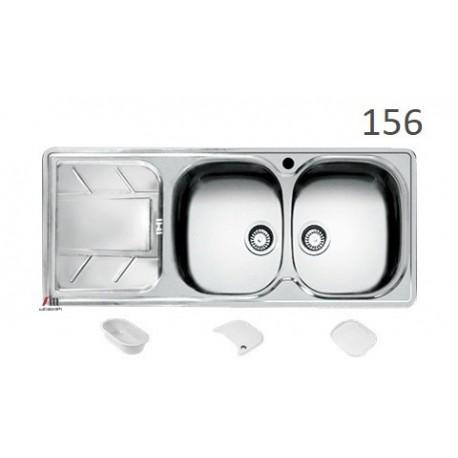 سینک ظرفشویی اخوان محصولات اخوان - مدل 156