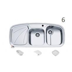 سینک ظرفشویی اخوان محصولات اخوان - مدل 6