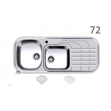 سینک ظرفشویی اخوان محصولات اخوان - مدل 72