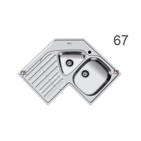 سینک ظرفشویی اخوان محصولات اخوان - مدل 67