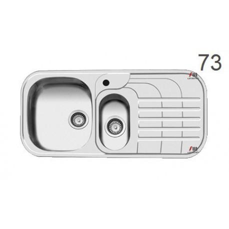 سینک ظرفشویی اخوان محصولات اخوان - مدل 73