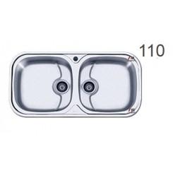 سینک ظرفشویی اخوان محصولات اخوان - مدل 110