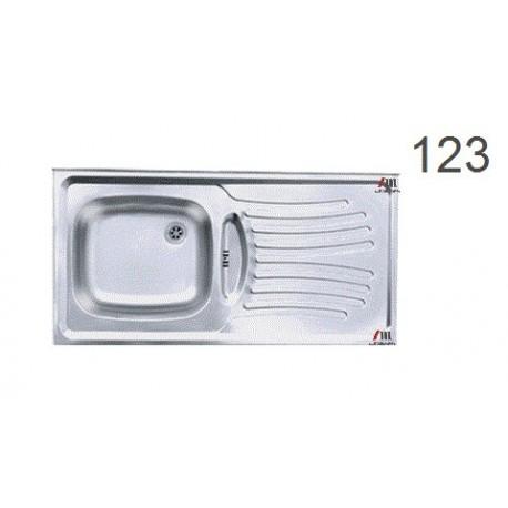 سینک ظرفشویی اخوان محصولات اخوان - مدل 123