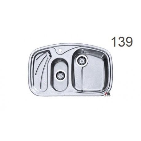 سینک ظرفشویی اخوان محصولات اخوان - مدل 139