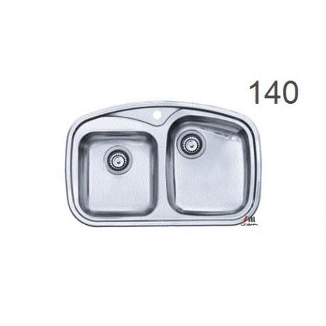 سینک ظرفشویی اخوان محصولات اخوان - مدل 140