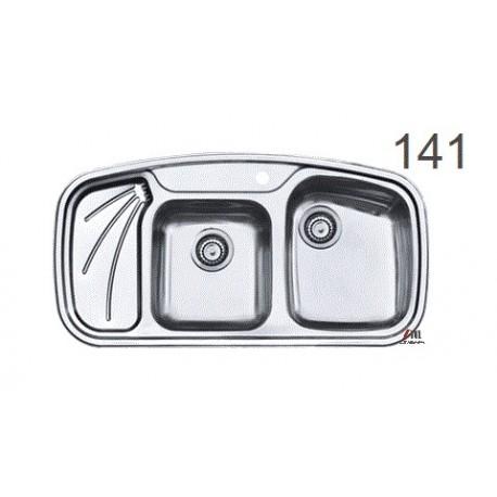 سینک ظرفشویی اخوان محصولات اخوان - مدل 141