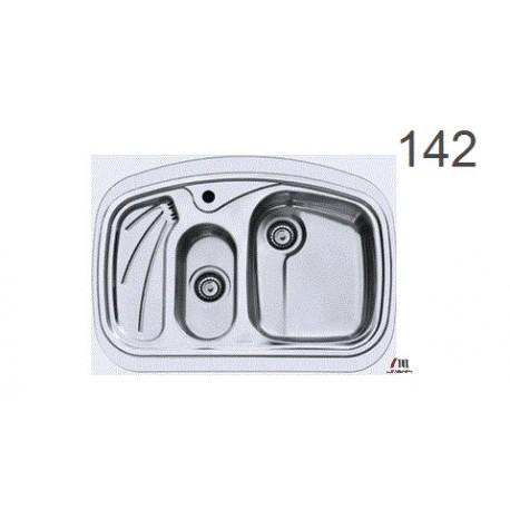 سینک ظرفشویی اخوان محصولات اخوان - مدل 142