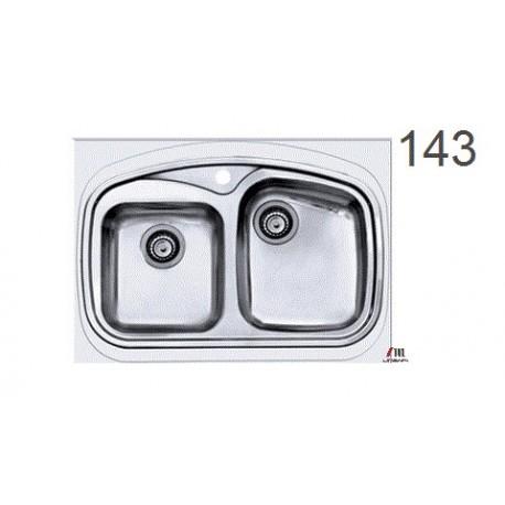 سینک ظرفشویی اخوان محصولات اخوان - مدل 143
