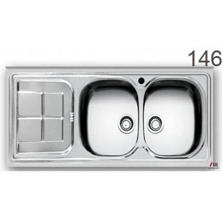 سینک ظرفشویی اخوان محصولات اخوان - مدل 146