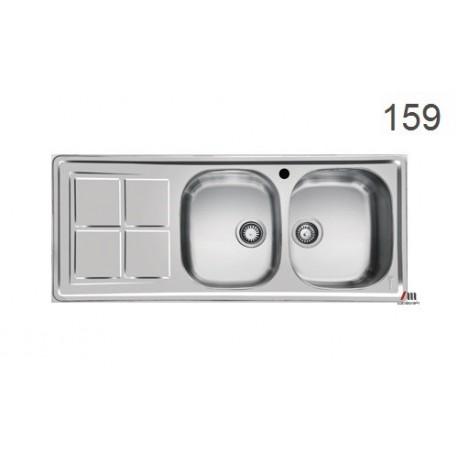 سینک ظرفشویی اخوان محصولات اخوان - مدل 159