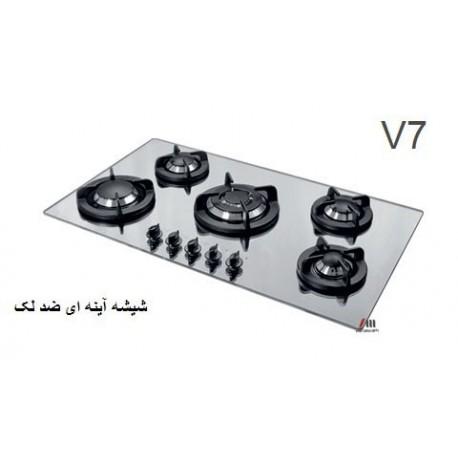 گاز صفحه ای - رومیزی اخوان محصولات اخوان - مدل v7 ونوس