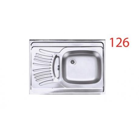 سینک ظرفشویی اخوان محصولات اخوان - مدل 126