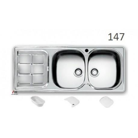 سینک ظرفشویی اخوان محصولات اخوان - مدل 147
