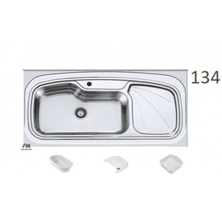 سینک ظرفشویی اخوان محصولات اخوان - مدل 134