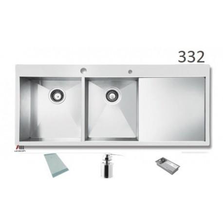 سینک ظرفشویی اخوان محصولات اخوان - مدل 332