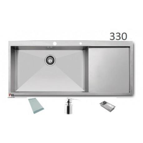 سینک ظرفشویی اخوان محصولات اخوان - مدل 330