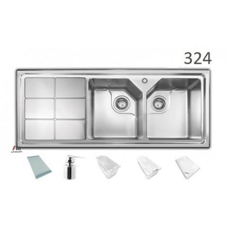 سینک ظرفشویی اخوان محصولات اخوان - مدل 324