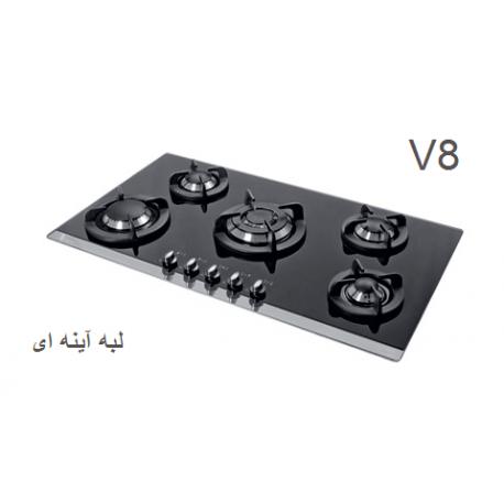 گاز صفحه ای - رومیزی اخوان محصولات اخوان - مدل v8 ونوس