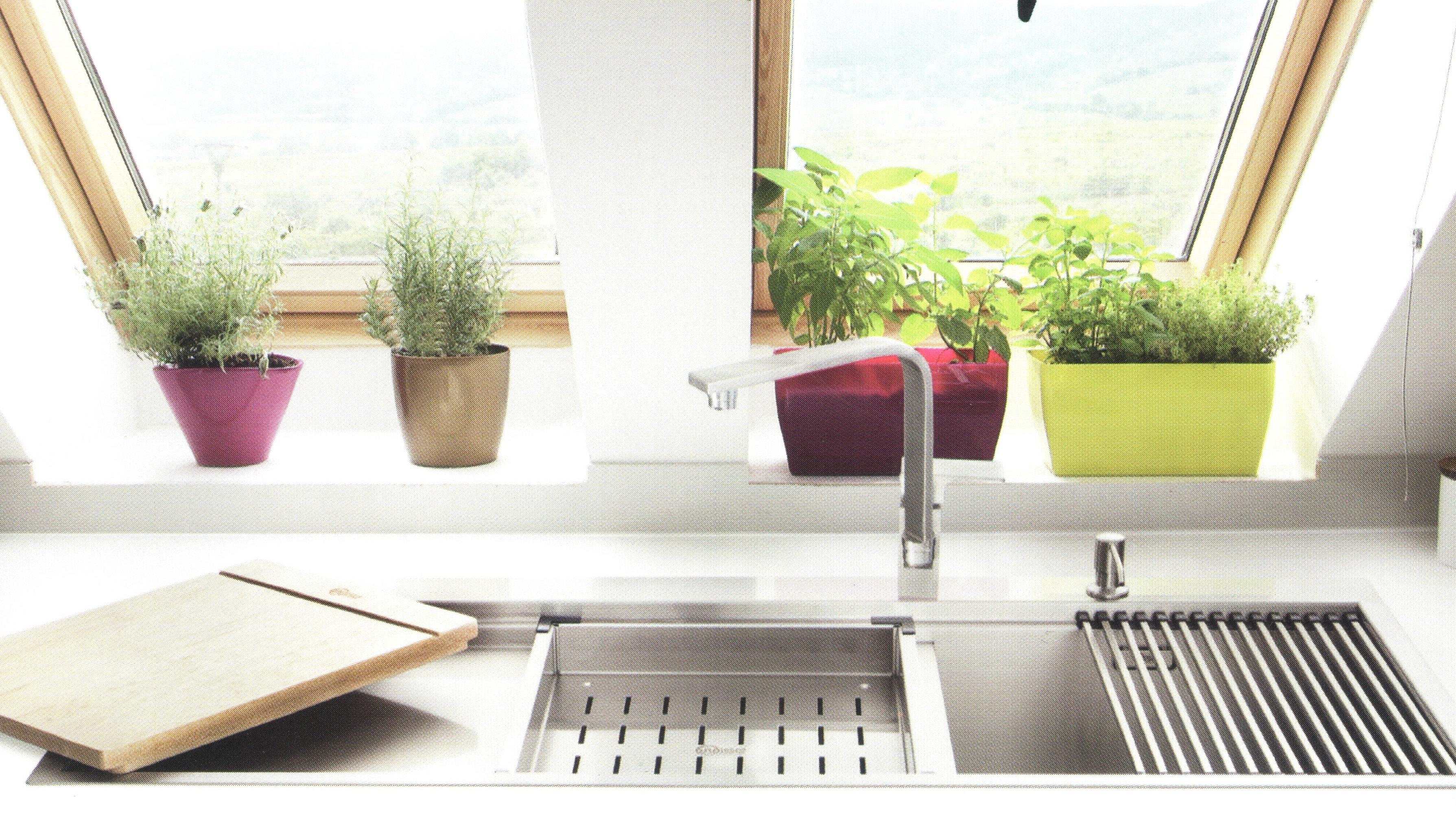 نمای سینک ظرفشویی
